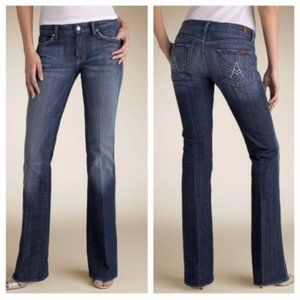 7 For All Mankind A Pocket Bootcut Flare Jeans 31